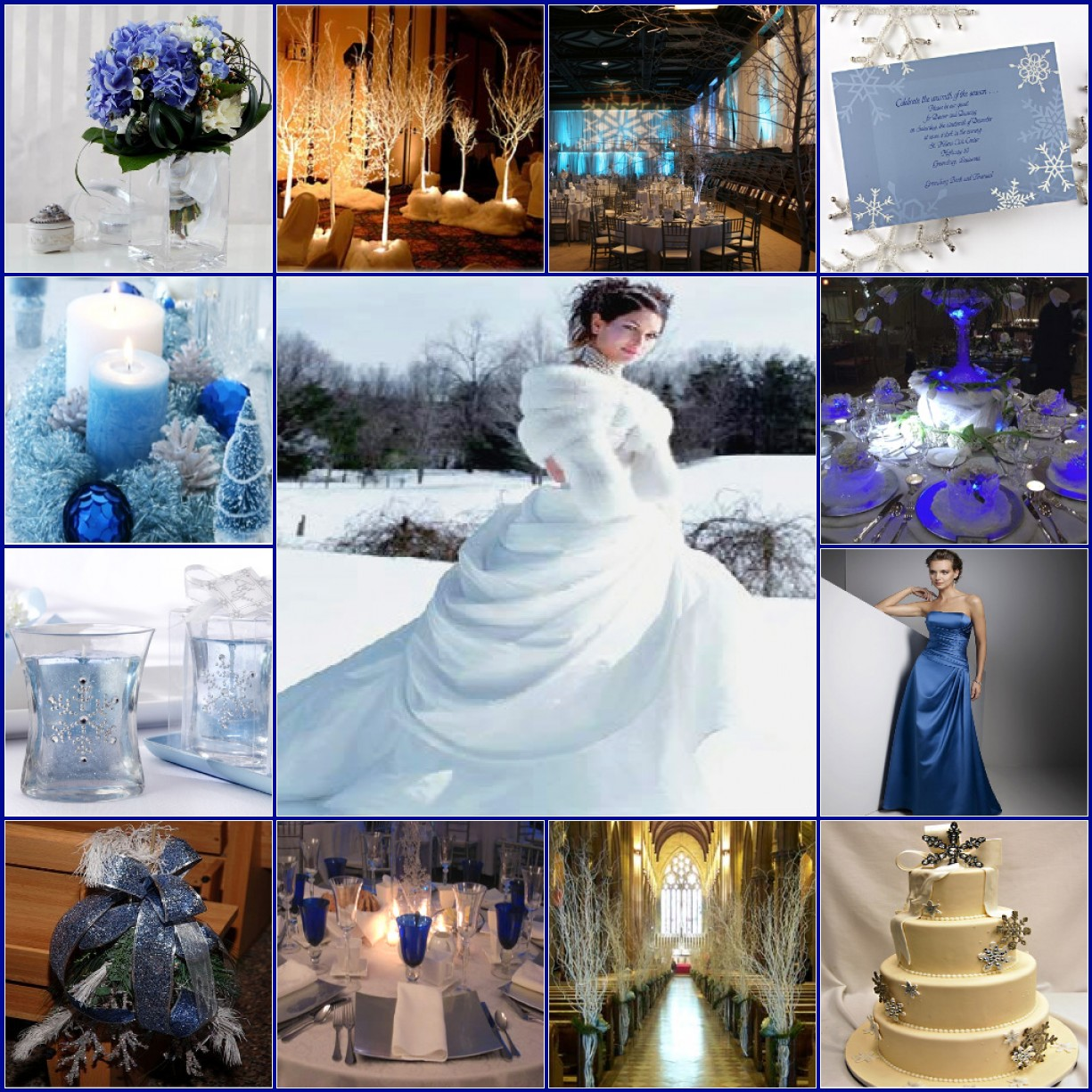 Winter Wedding Colors: South Charlotte Banquet Center » Christmas Or New Year's